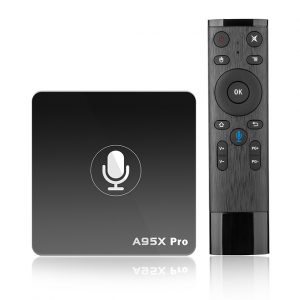 enybox a95x pro android 7.1 tv box amlogic s905w 2gb/16gb, voice remote