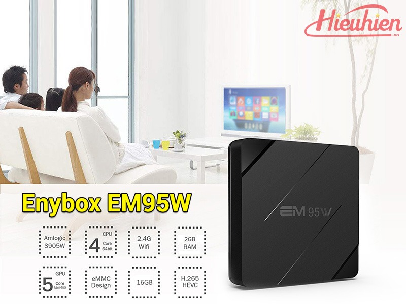 danh gia enybox em95w android 7.1 tv box gia re - 2gb ram + 16gb rom 08