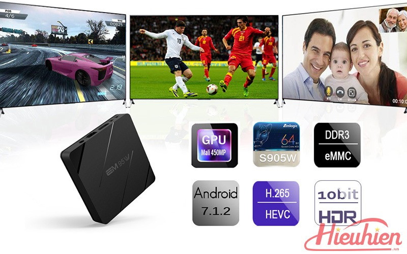 danh gia enybox em95w android 7.1 tv box gia re - 2gb ram + 16gb rom 10