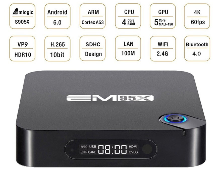 enybox em95x android tv box amlogic s905x, chay android 6.0, hang chinh hang, gia re 09
