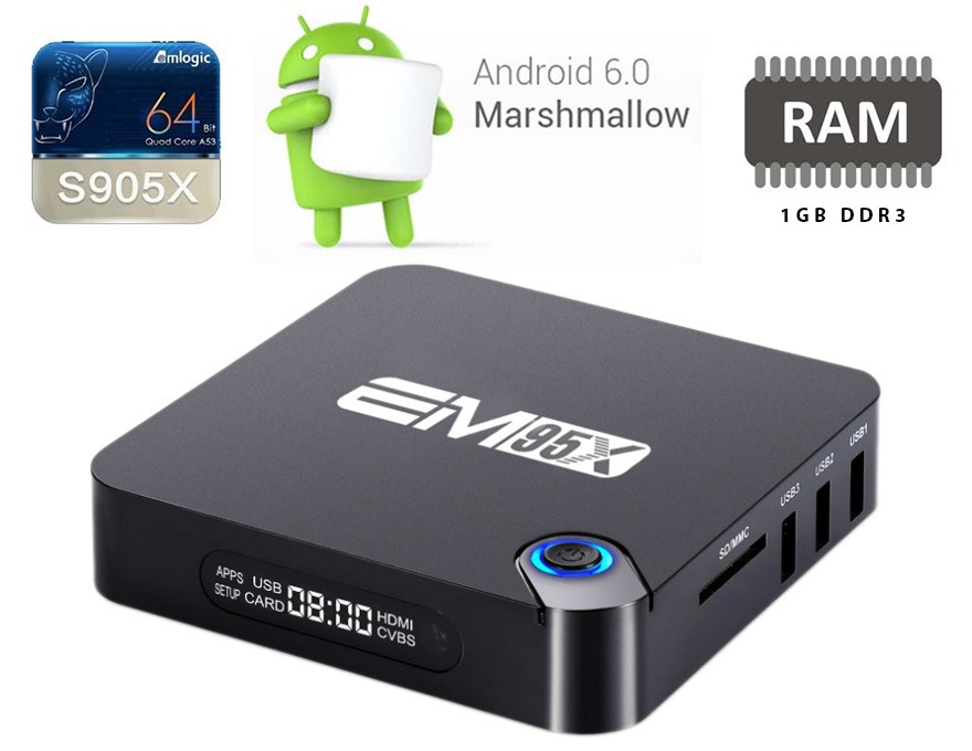 Hieuhien.vn phân phối Android TV Box Enybox EM95X chính hãng trên toàn quốc