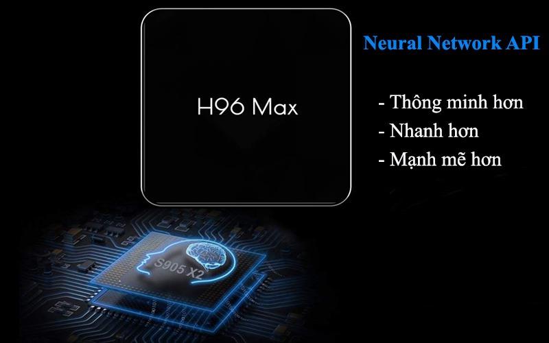 enybox h96 max x2 4gb/32gb android 8.1 tv box amlogic s905x2 chính hãng - chip s905x2