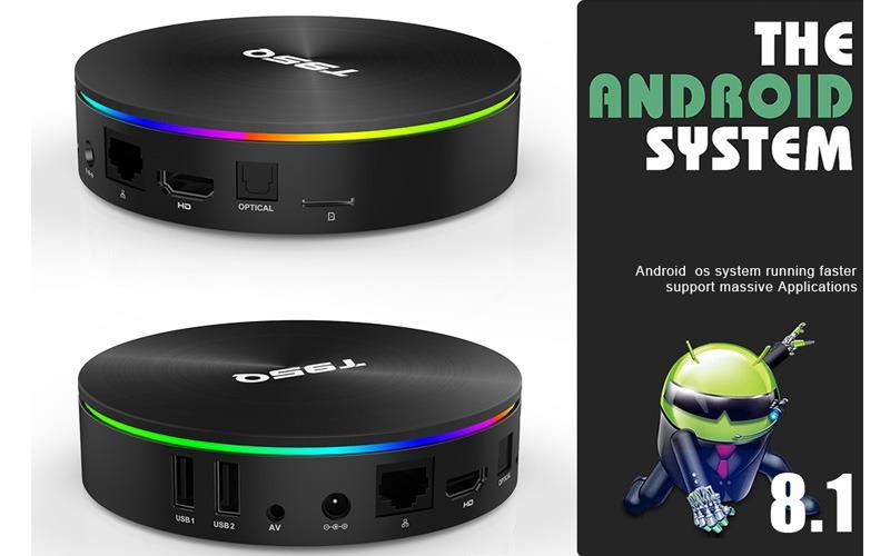 enybox t95q 4gb/32gb android 8.1 tv box amlogic s905x2 chính hãng - android 8.1