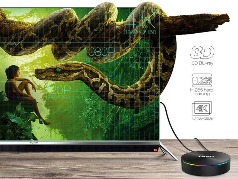 enybox t95q 4gb/32gb android 8.1 tv box amlogic s905x2 chính hãng - phim 4k