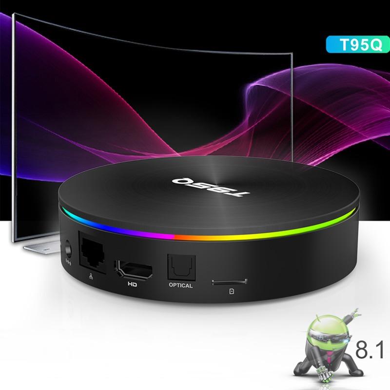 enybox t95q 4gb/64gb android 8.1 tv box amlogic s905x2 chính hãng - cổng kết nối