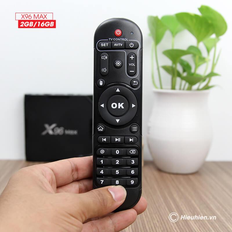 Enybox X96 MAX 2GB/16GB Android 8 1 TV Box Amlogic S905X2