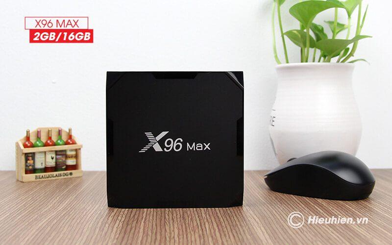 android tv box enybox x96 max 2gb/16gb android 8.1, chip amlogic s905x2 - hình 06