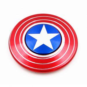Fidget Spinner Captain America - Con quay giảm stress 01