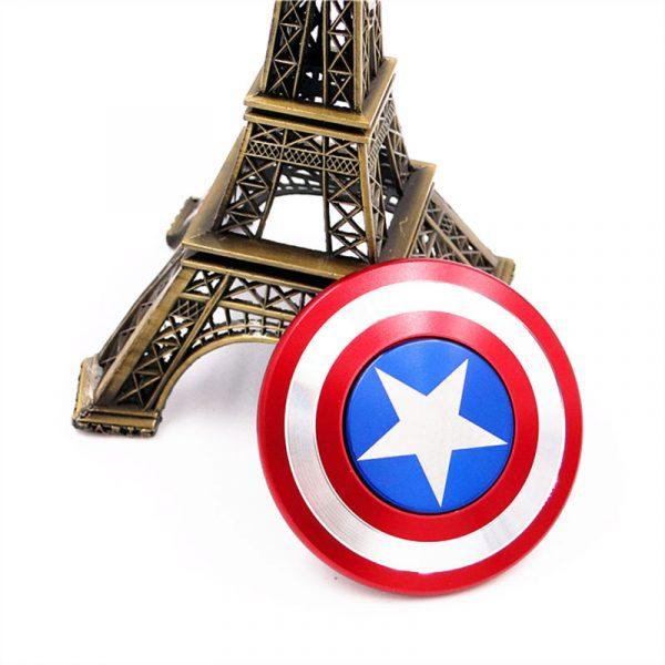Fidget Spinner Captain America - Con quay giảm stress 02