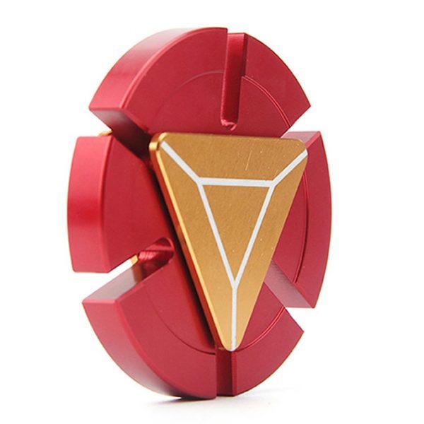 fidget spinner iron man - con quay giảm stress - hình 02