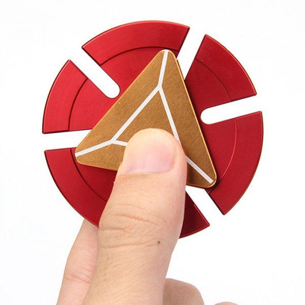 fidget spinner iron man - con quay giảm stress - hình 03