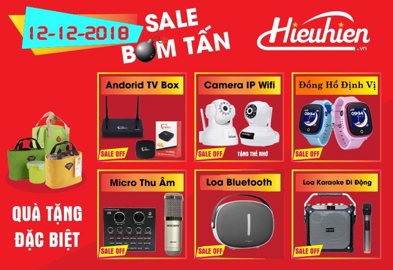 Flash Sale Day 12.12.2018 - Siêu Khuyến Mãi tại HieuHien.vn