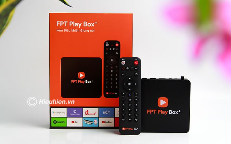 fpt play box 2019 voice remote - hộp truyền hình thông minh điều khiển bằng giọng nói - full box