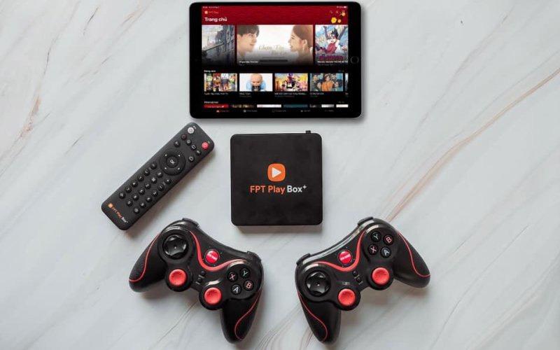 fpt play box 2019 voice remote - hộp truyền hình thông minh điều khiển bằng giọng nói - kết nối thiết bị bluetooth cùng lúc