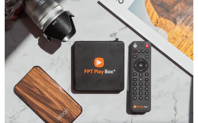 fpt play box 2019 voice remote - hộp truyền hình thông minh điều khiển bằng giọng nói - box va remote