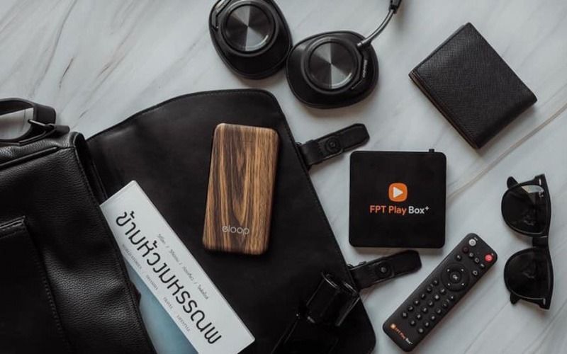 fpt play box 2019 voice remote - hộp truyền hình thông minh điều khiển bằng giọng nói - kèm phụ kiện