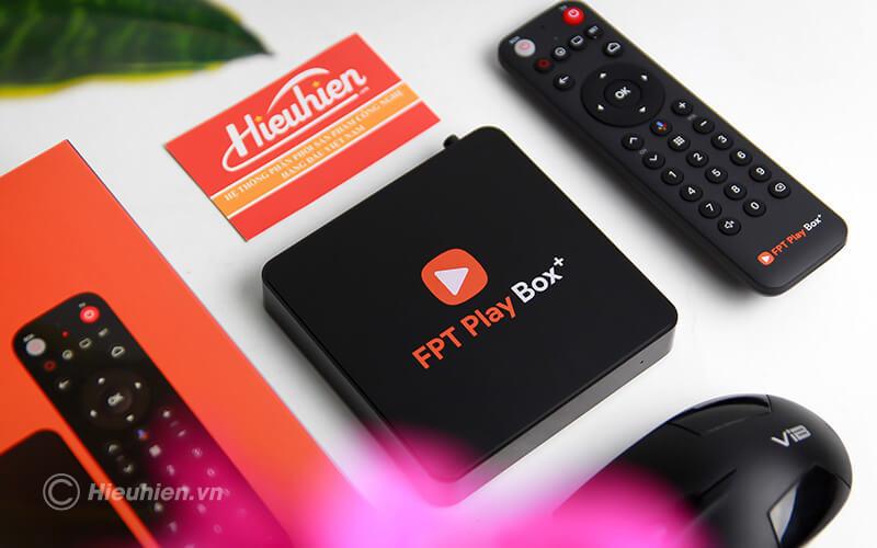 fpt play box 2019 voice remote - hộp truyền hình thông minh điều khiển bằng giọng nói - box fpt