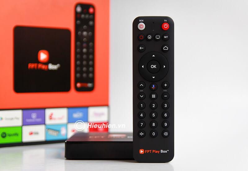 fpt play box 2019 voice remote - hộp truyền hình thông minh điều khiển bằng giọng nói - điều khiển giọng nói