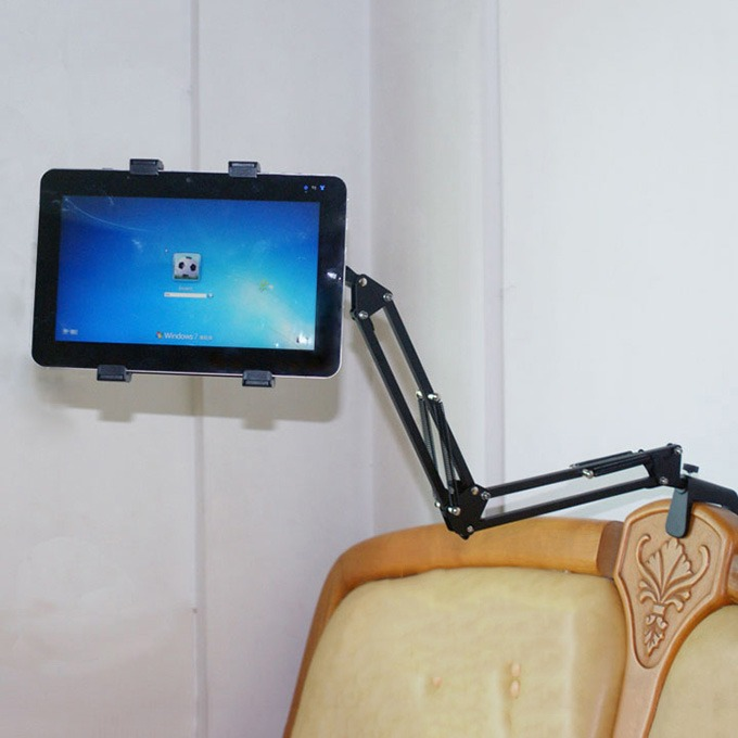 giá đỡ kẹp ipad, điện thoại nb-40 dùng trên gường, trên bàn - hình 03