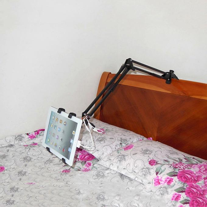 giá đỡ kẹp ipad, điện thoại nb-40 dùng trên gường, trên bàn - hình 05