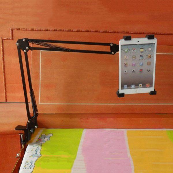 giá đỡ kẹp ipad, điện thoại nb-40 dùng trên gường, trên bàn - hình 07