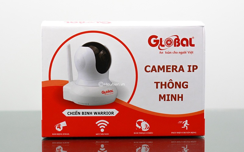 global w1 720p chinh hang camera ip wifi giam sat, quan sat khong day