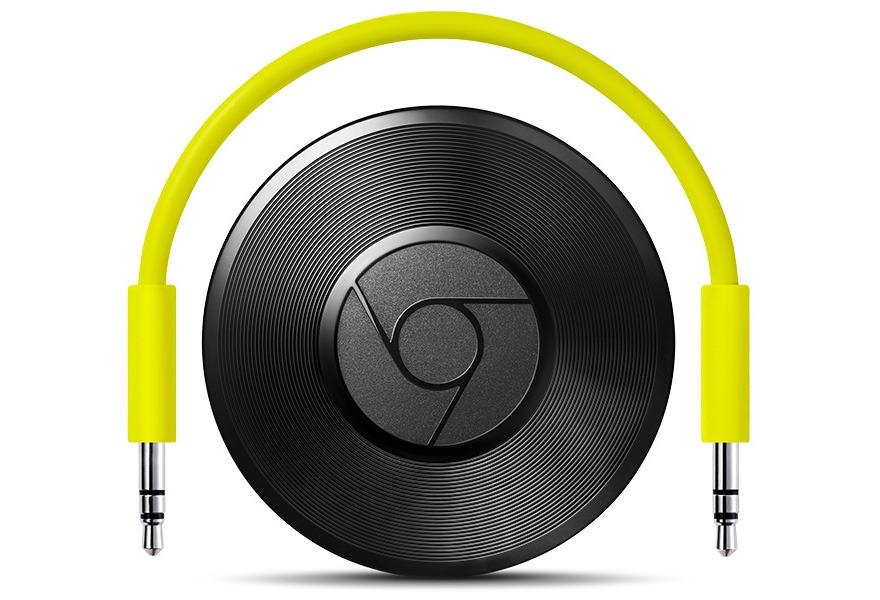 chromecast audio - thiet bi truyen nhac truc tuyen - chromecast cho loa
