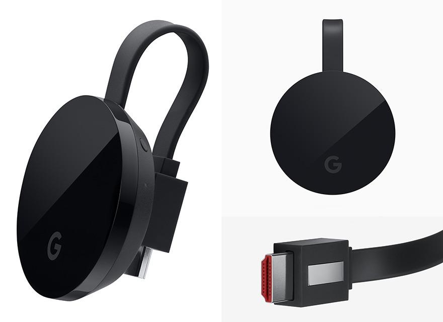 chromecast ultra truyen noi dung giai tri den hdtv 4k ultra hd & hdr hay 1080p cua ban voi do sac net vuot troi