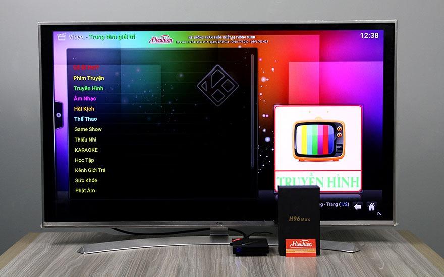 danh gia h96 max android tv box - kodi hieuhien.vn trung tam giai tri danh cho nguoi viet - xem phim, xem truyen hinh, nghe nhac, hai, karaoke
