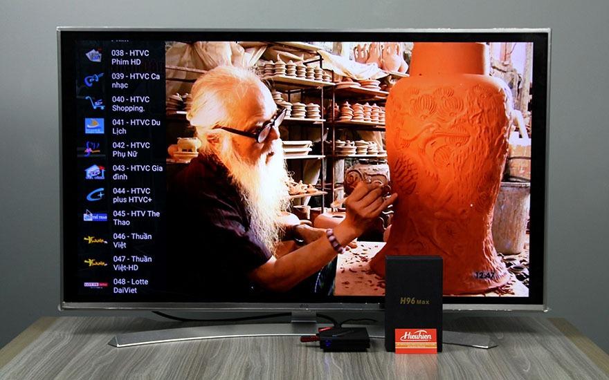 danh gia h96 max android tv box cau hinh cuc manh ram 4gb, rom 32gb, chip rk3399 18