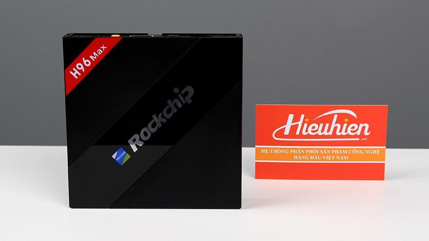h96 max android tv box cau hinh khung 4gb ram, 32gb rom, rk3399 hexa-core