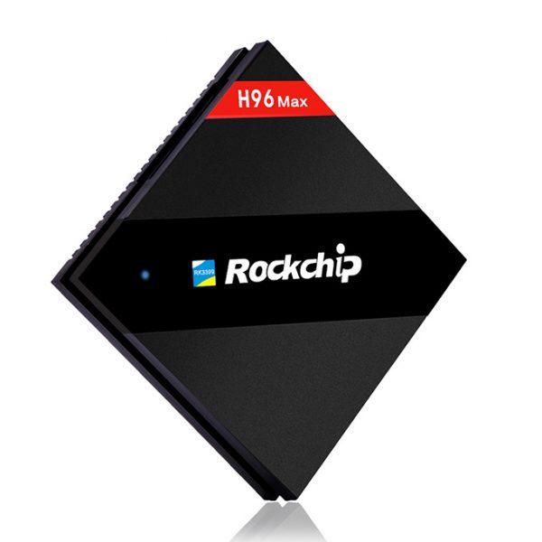 h96 max siêu phẩm android tv box 4gb ram, 32gb rom, rk3399 chính hãng