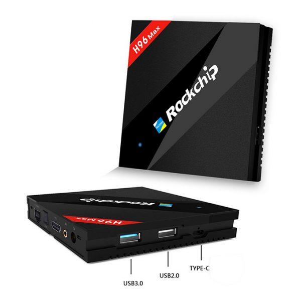 h96 max siêu phẩm android tv box 4gb ram, 32gb rom, rk3399 chính hãng - hình 06