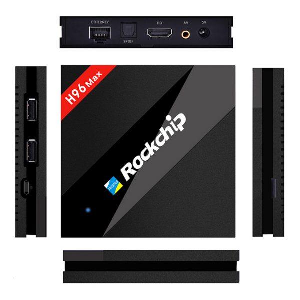 h96 max siêu phẩm android tv box 4gb ram, 32gb rom, rk3399 chính hãng - hình 07