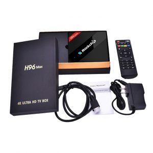 H96 MAX Siêu phẩm Android TV Box 4GB RAM, 32GB ROM, RK3399