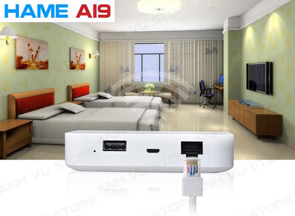 HAME A19 - Bộ Phát WiFi 3G - WiFi Di Động - Pin Sạc Dự Phòng - Router Wifi 3G Hame A19 04