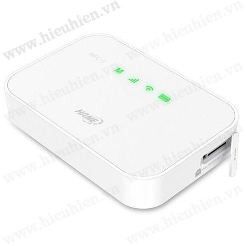 hame a19 - bộ phát wifi di động từ sim 3g - pin sạc dự phòng 5200mah