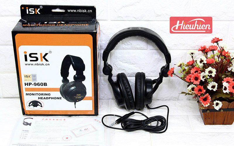 Headphone ISK HP-960B - Tai Nghe Kiểm Âm Giá Rẻ - hộp
