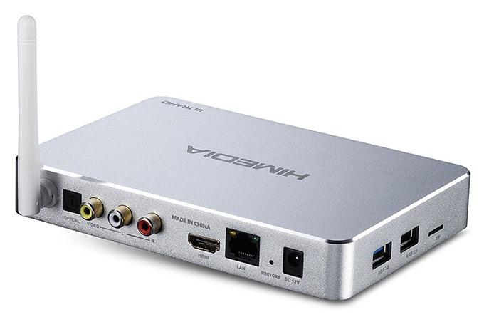 himedia q5 pro android tv box hisilicon hi3798cv200 4k hdr 2gb/8gb - cổng kết nối
