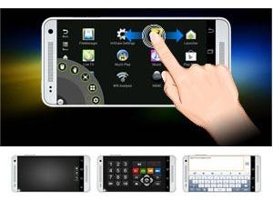 himedia q5 pro android tv box hisilicon hi3798cv200 4k hdr 2gb/8gb - thao tác trên diện thoại