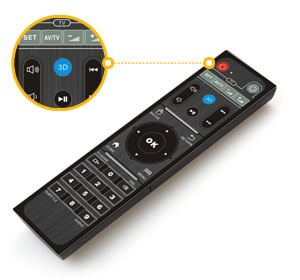 himedia q5 pro android tv box hisilicon hi3798cv200 4k hdr 2gb/8gb - phím remote