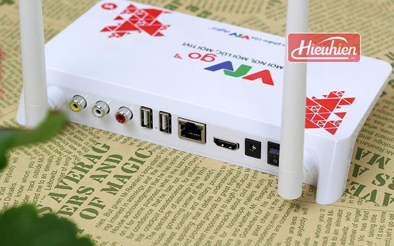 hộp truyền hình internet tv box vtvgo v1 - mọi nơi, mọi lúc, mọi tivi - cổng kết nối