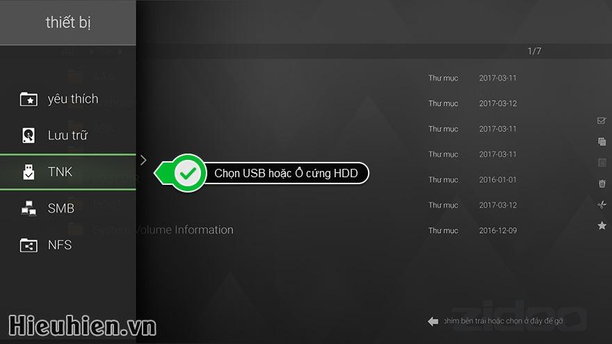 Hướng dẫn cách xem DVD ISO, DVD Folder trên Android TV Box