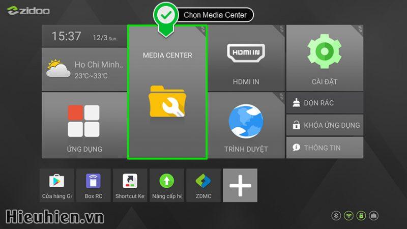 Hướng dẫn cách xem DVD ISO, DVD Folder trên Android TV Box ZIDOO X9S