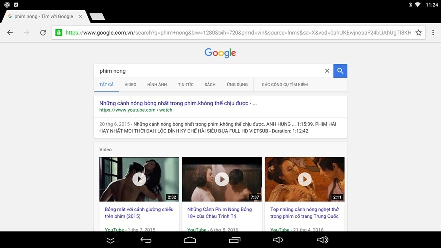 Hướng dẫn cách xóa lịch sử trình duyệt web Google Chrome trên Android TV Box