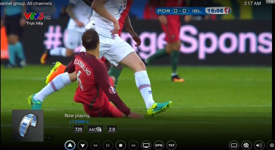 Hướng dẫn cài đặt IPTV để xem trực tiếp EURO và Copa America
