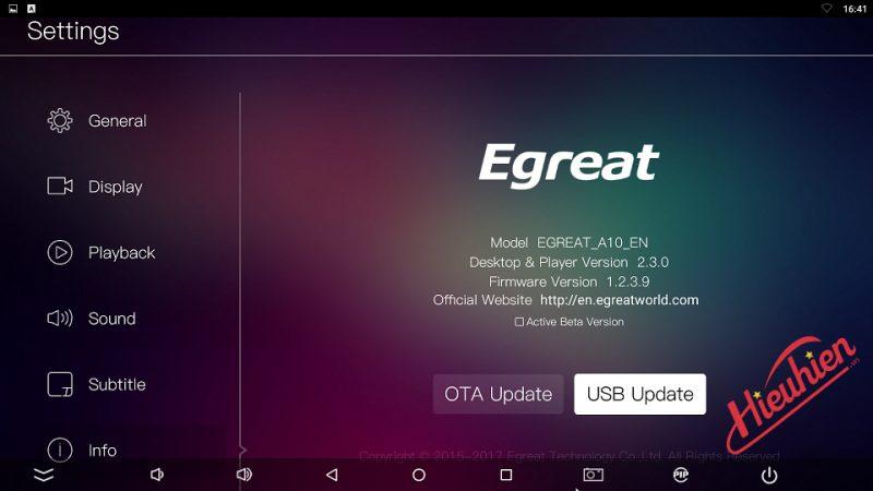 hướng dẫn cài đặt phiên bản firmware android tv dành cho egreat a10 - hình 02