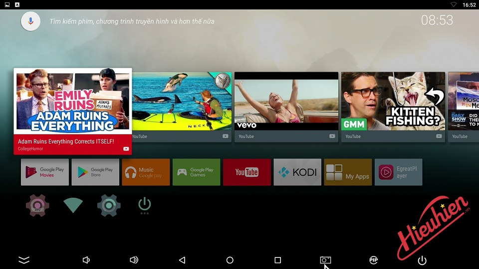 Hướng dẫn cài đặt phiên bản Firmware Android TV dành cho Egreat A10