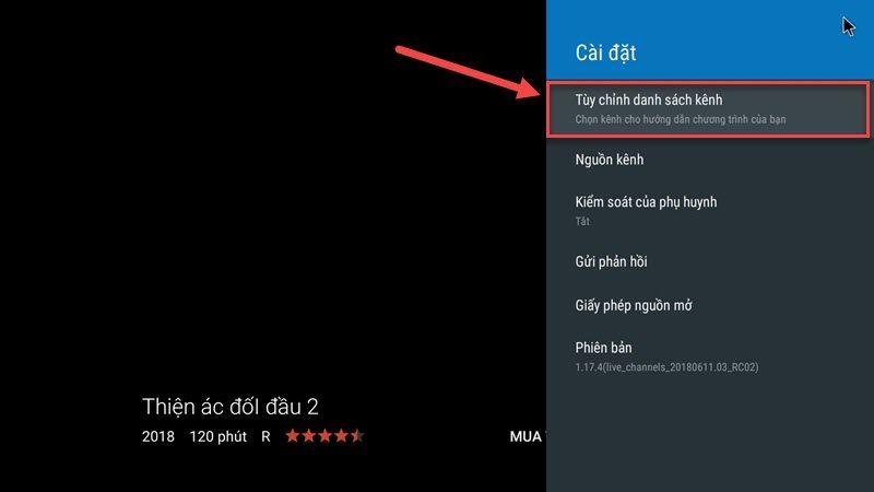 hướng dẫn cài đặt tvirl xem truyền hình iptv fpt trên android tv box - hình 16
