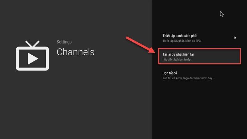 hướng dẫn cài đặt tvirl xem truyền hình iptv fpt trên android tv box - hình 20